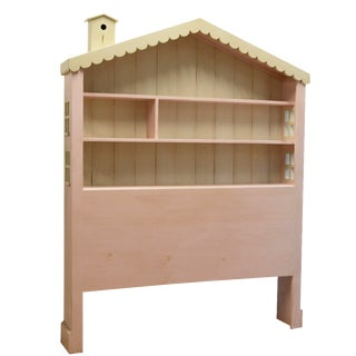 Children's Dollhouse Full Headboard