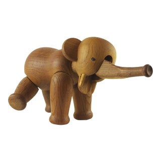 Kay Bojesen Jointed Wooden Elephant Toy