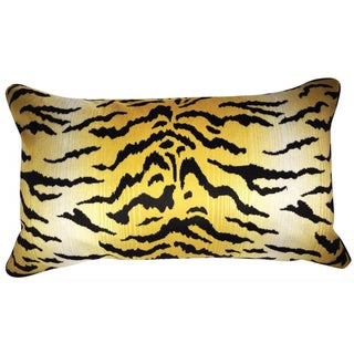 Perennials City Kitty Tiger Pillows - Pair