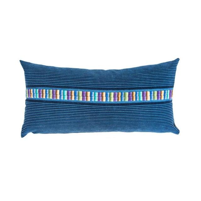 Vintage Indigo Ronda Pillow - Image 1 of 7