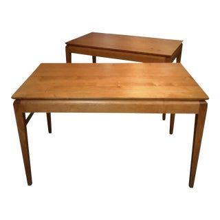 Solid Maple Writing Desks - A Pair
