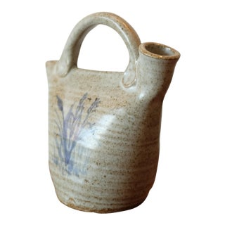 Hand Painted Studio Ceramic Jug