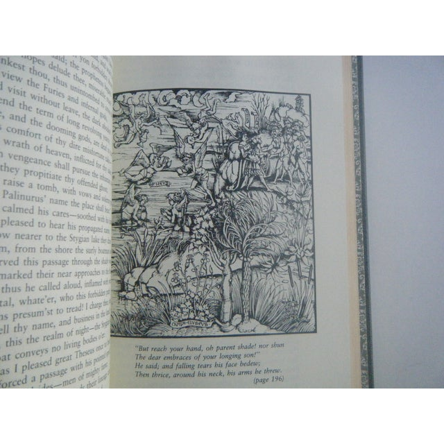 Vintage Book 'The Aeneid' by Virgil, Decorative - Image 6 of 7