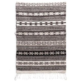 """Grey Oaxaca Wool Rug - 2'7""""x5'"""