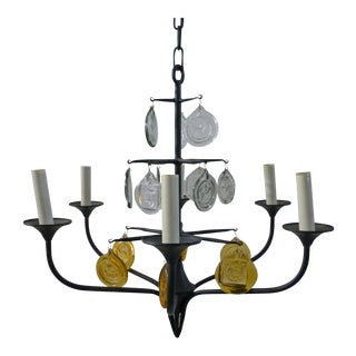 Iron & Boda Nova Crystal Chandelier