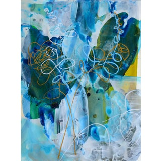 'Blue Petals 4' Original Composition
