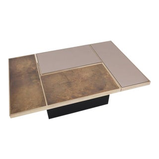 Willy Rizzo Hidden Bar Coffee Table