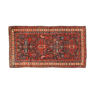 Leon Banilivi Antique Kuba Carpet - 4′1″ × 7′8″