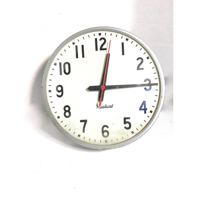Vintage Rauland School Clock - Image 2 of 8