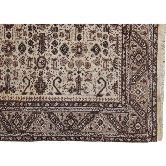 "Vintage Persian Tabriz Rug- 3'10"" x 5'7"" - Image 3 of 3"