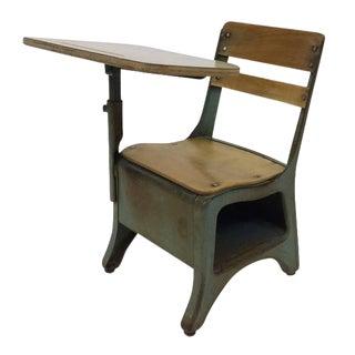 Bent Plywood Children's School Desk