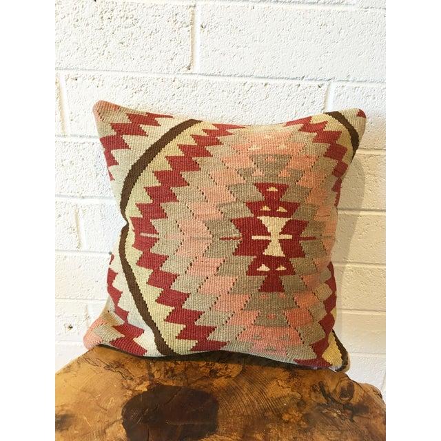 Vintage Kilim Rug Pillow - Image 5 of 6