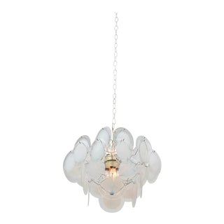 Gino Vistosi Glass Chandelier