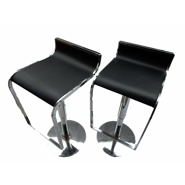 Chrome Swivel Counter/Bar Stools - A Pair - Image 3 of 6