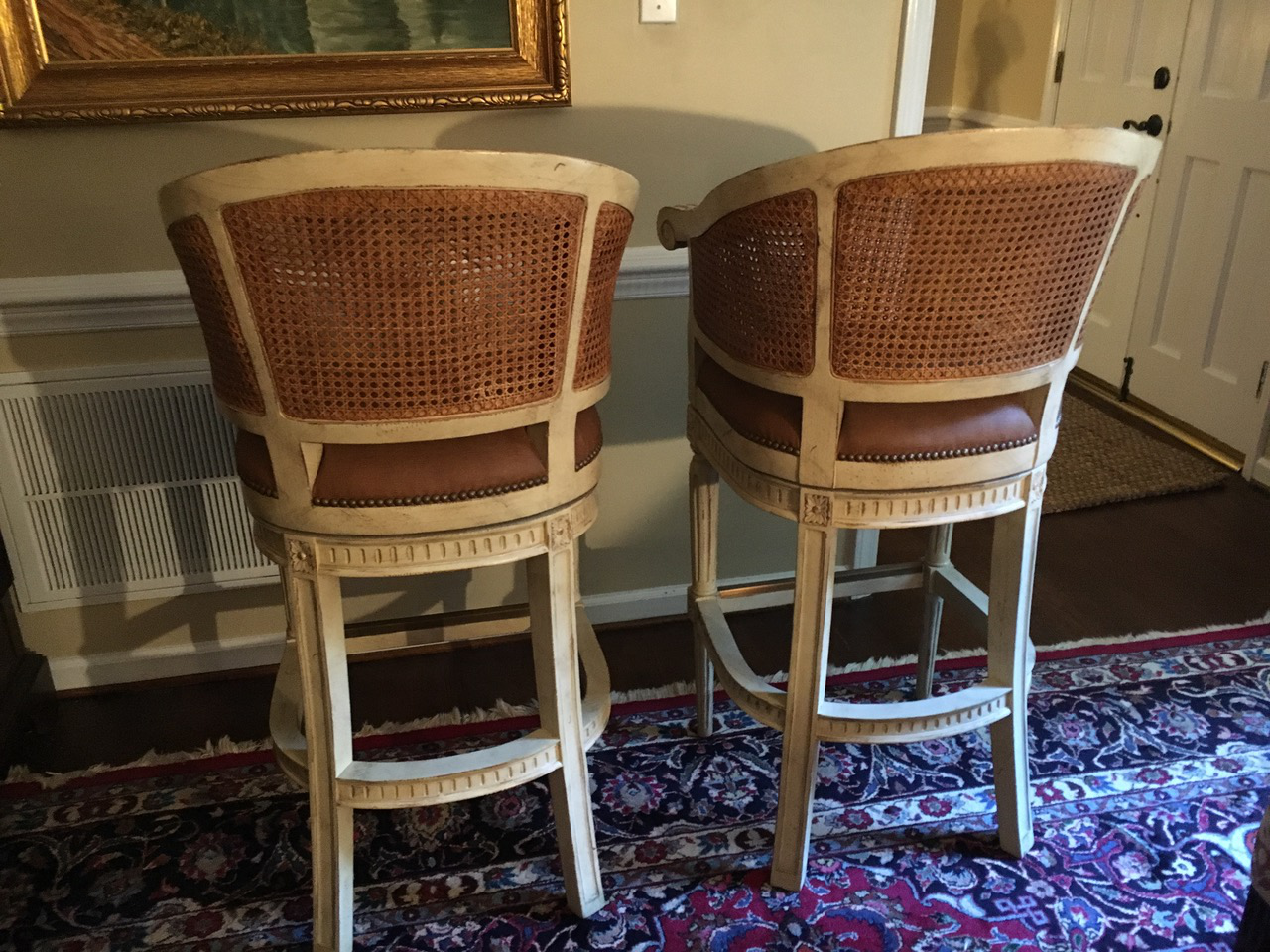 4 Swivel Bar Stools By Pama Of High Point, Nc   Image 10 Of 10 Part 39