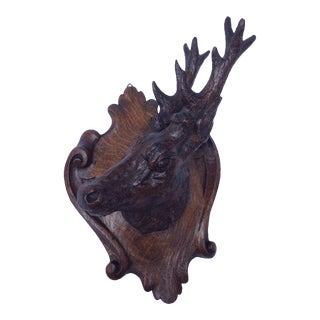 Black Forest Stag Plaque