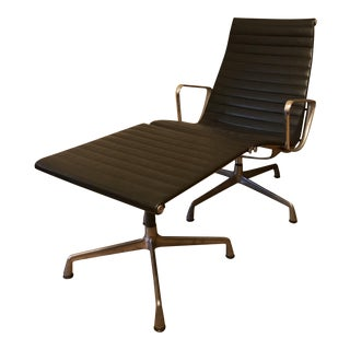 Eames for Herman Miller Aluminum Lounge Chair & Ottoman