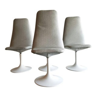 Vintage Tulip Swivel Chairs - Set of 4
