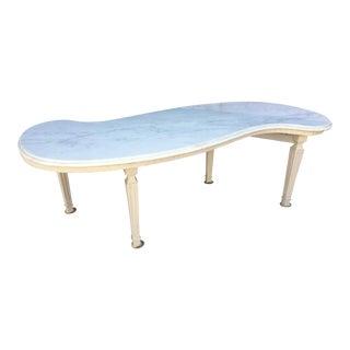 Italian Renaissance Style Marble Top Coffee Table