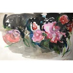 Image of Jenny Vorwaller Red Roses Watercolor Painting