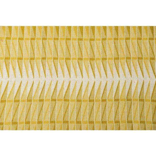 Vintage Swedish Flat-Weave Carpet - Image 2 of 9