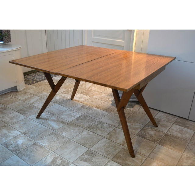 Mid-Century Castro Convertible Dining/Coffee Table - Image 3 of 4