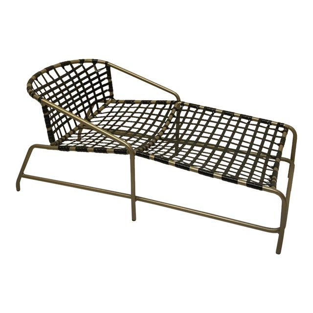 Brown jordan kantan chaise lounge chair chairish for Brown and jordan chaise lounge