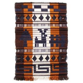 Vintage Peruvian Woven Fiber Wall Hanging