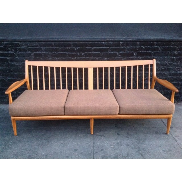 Conant Ball Mid-Century Pink Sofa - Image 5 of 8