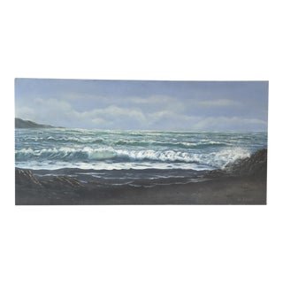 Lee Hirano Seascape Painting on Canvas