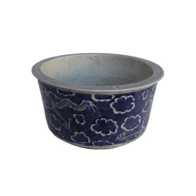 Chinese Porcelain Blue & White Flower Pot Planter - Image 2 of 4