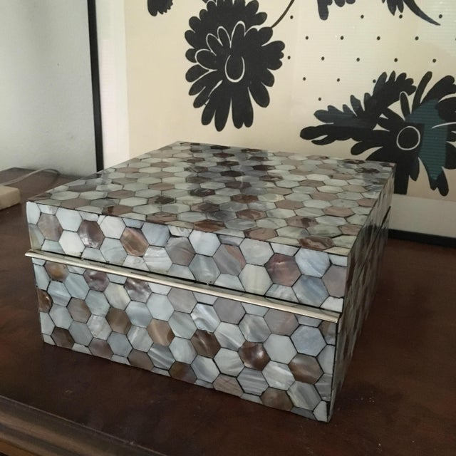 Image of Mother of Pearl Box