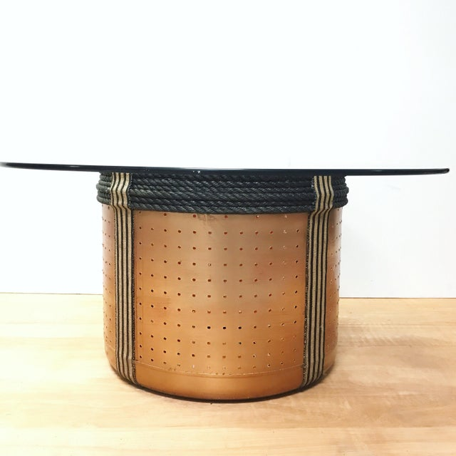 Dryer Drum Coffee Table - Image 3 of 9