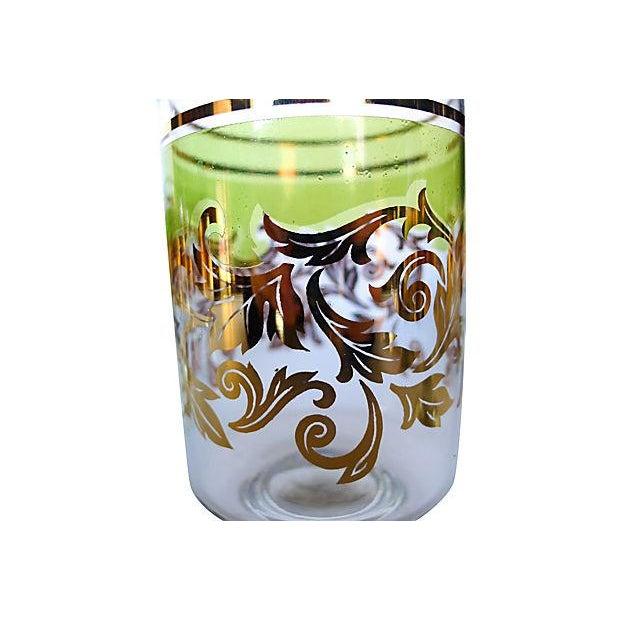 Midcentury Holiday Beverage Glasses - Set of 8 - Image 2 of 6
