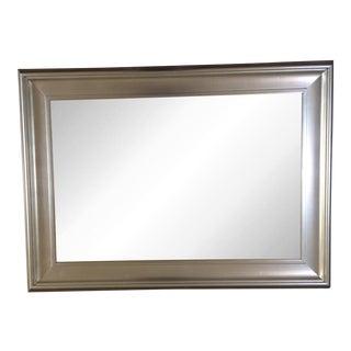 Pottery Barn Silver Leaf Mirror