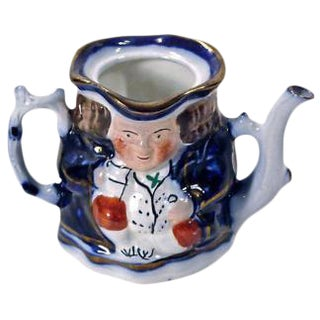 Antique English Porcelain Caricature Creamer
