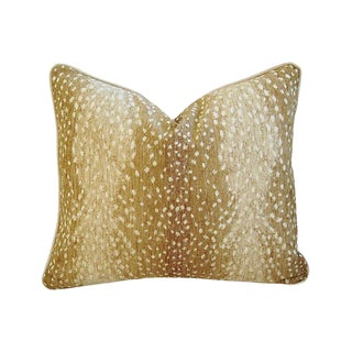 Deer Velvet Down & Feather Pillow