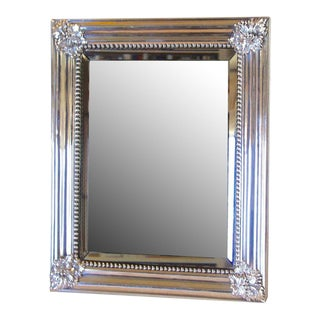 Antique Silver Plate Mirror