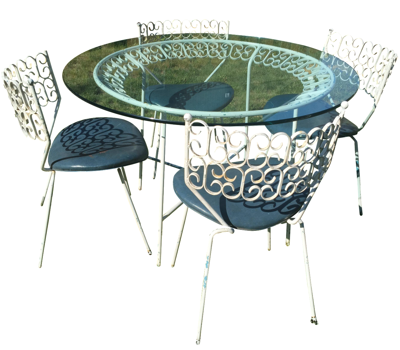 1964 Arthur Umanoff Grenada Collection Patio Dining Set
