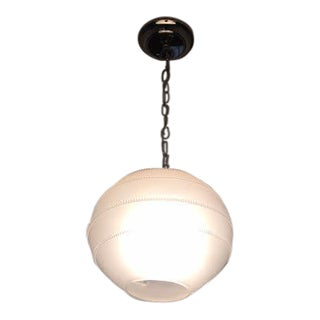 Juliska Amalia Frosted Globe Pendant Light
