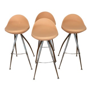Roberto Foschia Italian Midj Bar Stools - Set of 4