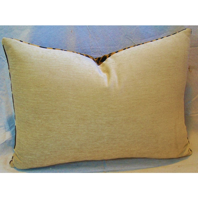 Scalamandre Cut-Velvet Leopardo Pillow - Image 5 of 8