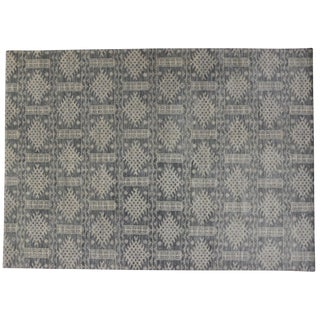 Transitional Gray Area Rug - 10' x 14'
