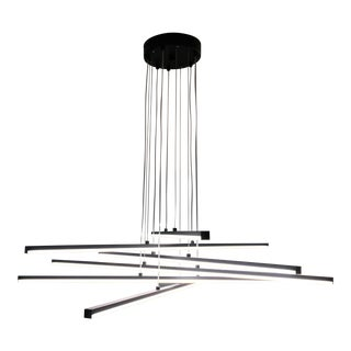 Sonneman Modern 6 Stix LED Pendant Light