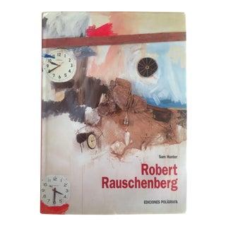 """Robert Rauschenberg"" 1st Edition Vintage 1999 Collector's Art Book"