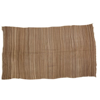 "Vintage Striped Moroccan Kilim Rug- 4'6"" x 7'10"""