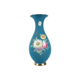 German Waldershof Bavaria Hand-painted Vase