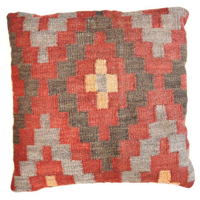 Turkish Kilim Pillows - Set of Three - Image 3 of 5