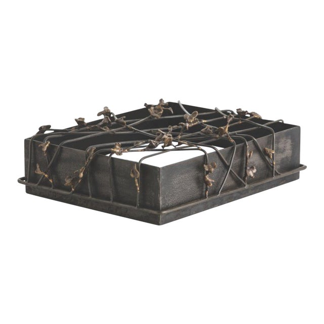 Butterfly Metal Iron Box - Image 1 of 4