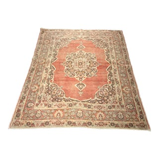 "Bellwether Antique Persian Tabriz Rug - 3'11"" x 5'1"""